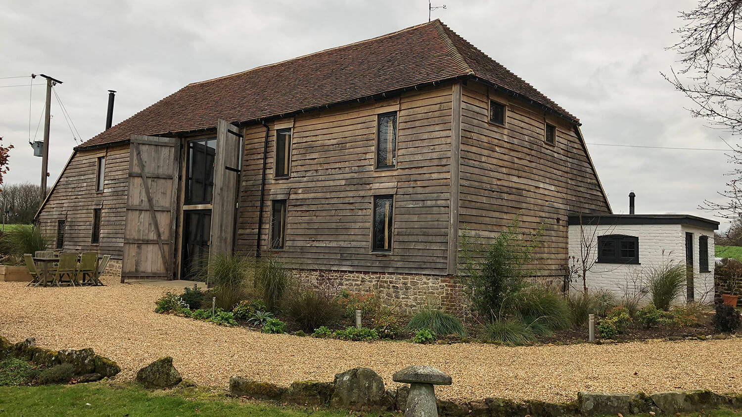 Barn conversion in South Downs National Park