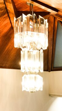 Private country house conservation chandelier