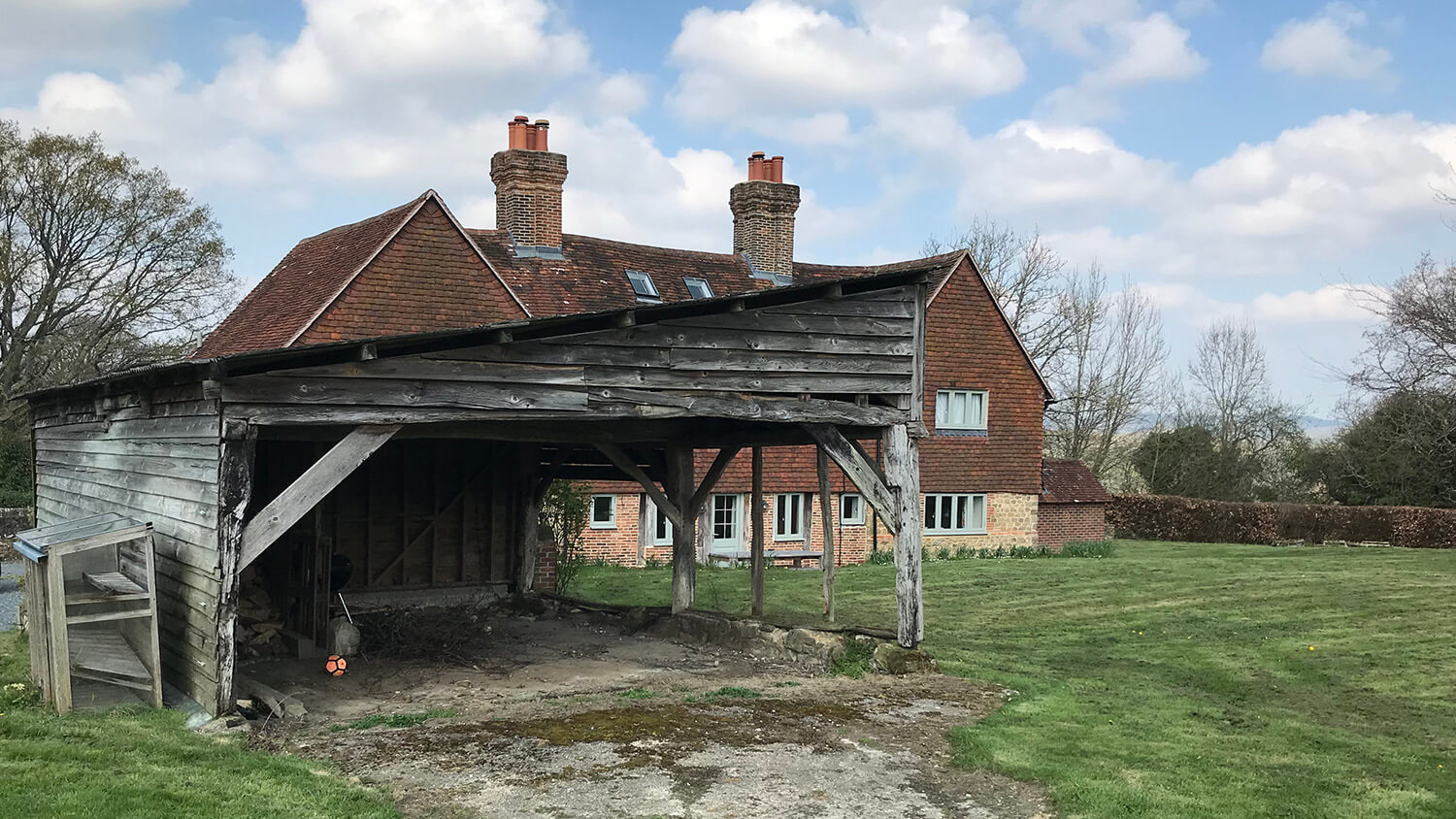 18th century barn refurbishment and repair