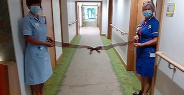 rowans hospice ward refurbishment